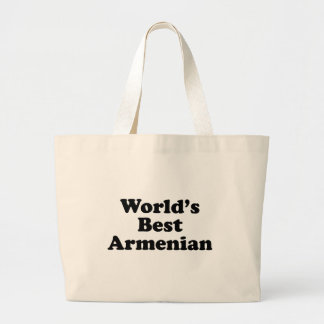 World's Best Armenian Large Tote Bag