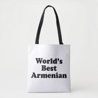 World's Best Armenian Tote Bag