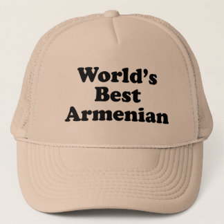 World's Best Armenian Trucker Hat