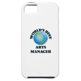 World's Best Arts Manager iPhone 5/5S Cases
