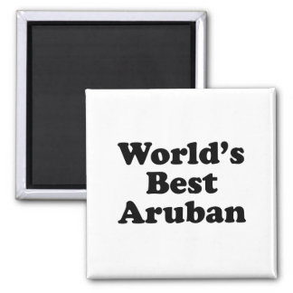 World's Best Aruban Magnet