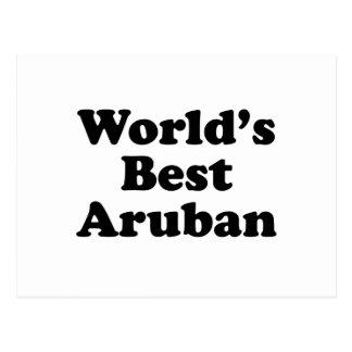 World's Best Aruban Postcard