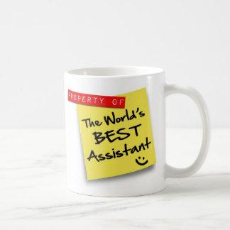 World's Best Assistant Post Basic White Mug