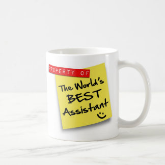 World's Best Assistant Post Coffee Mug
