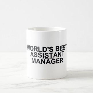 World's best Assistant (to the regional) Manager Basic White Mug