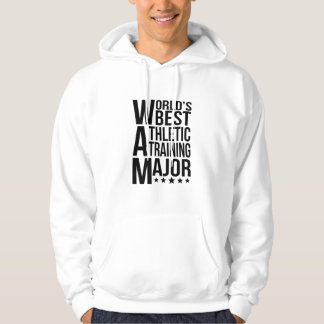 World's Best Athletic Training Major Hoodie