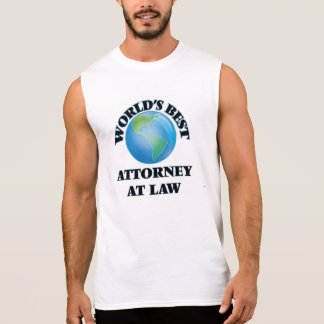 World's Best Attorney At Law Sleeveless T-shirt