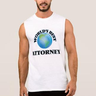 World's Best Attorney Sleeveless T-shirts