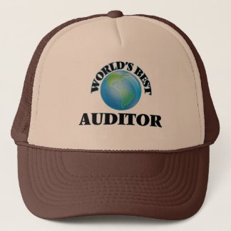 World's Best Auditor Cap