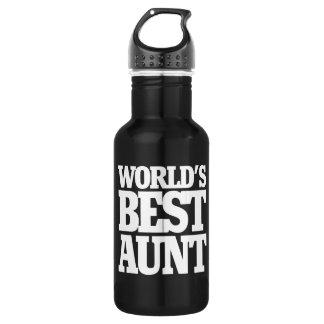 World's Best Aunt 532 Ml Water Bottle