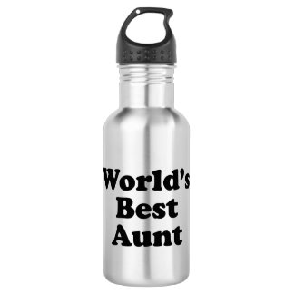 World's Best Aunt 532 Ml Water Bottle