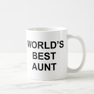 World's Best Aunt Coffee Mug