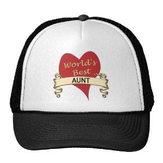 World's Best Aunt Mesh Hats