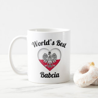 World's Best Babcia Coffee Mug