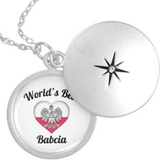 World's Best Babcia Locket