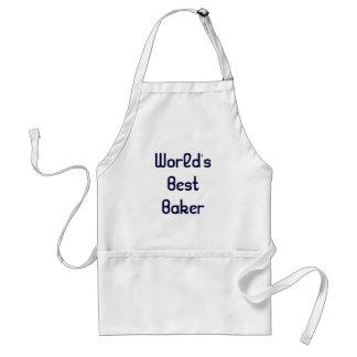 World's Best Baker Apron