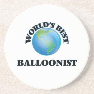 World's Best Balloonist Beverage Coasters