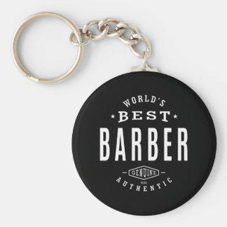 World's Best Barber Key Ring