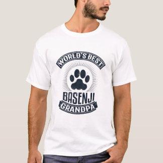 World's Best Basenji Grandpa T-Shirt