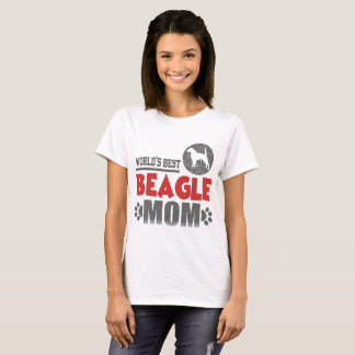 WORLD'S BEST BEAGLE MOM T-Shirt
