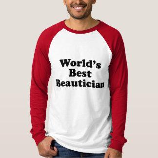 World's Best Beautician T-shirt