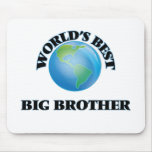 World's Best Big Brother Mouse Pad