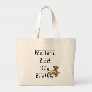 World's Best Big Brother Jumbo Tote Bag