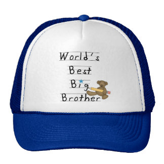 World's Best Big Brother Tshirts and Gifts Cap