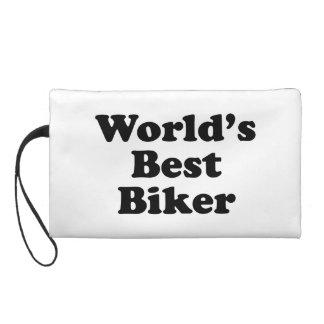 World's Best Biker Wristlet Purse