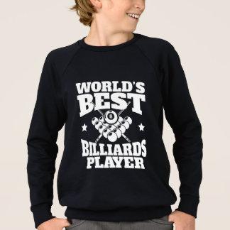 Worlds Best Billiards Player Sweatshirt