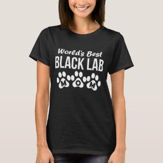 World's Best Black Lab Mom T-Shirt