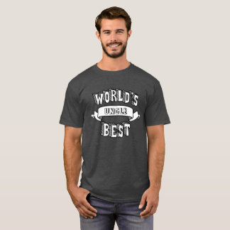 World's Best Blank Typography Text Shirt