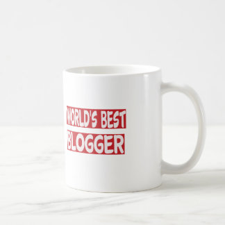 World's Best Blogger. Coffee Mugs