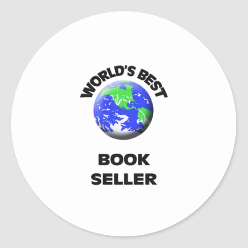 World's Best Book Seller Sticker