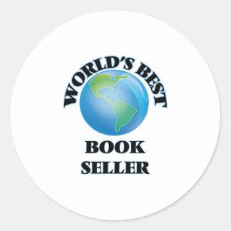 World's Best Book Seller Stickers