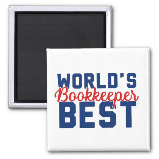 World's Best Bookkeeper Magnet