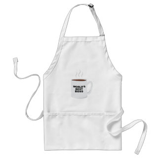Worlds Best Boss Adult Apron