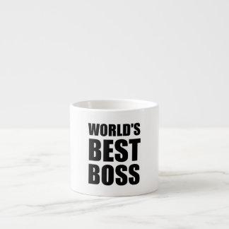 Worlds Best Boss Espresso Mug