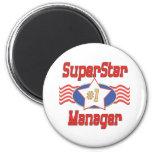 World's Best Boss Gifts Fridge Magnet