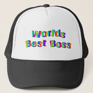 World's Best Boss Hat
