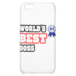 World's Best Boss Case For iPhone 5C