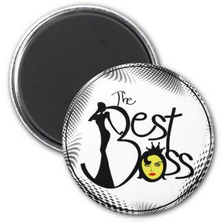 World's Best Boss lady Fridge Magnet