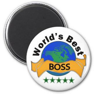 World's Best Boss Fridge Magnets