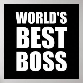 Worlds Best Boss Poster