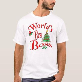 World's Best Boss T-Shirt