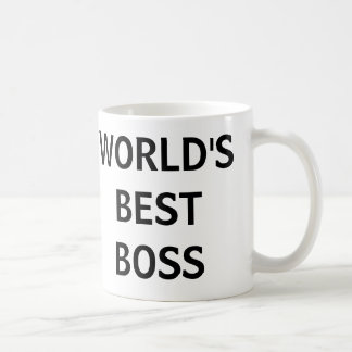 WORLD'S BEST BOSS - The Office Mug