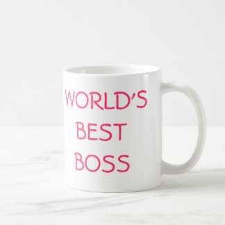 WORLD'S BEST BOSS, YOU'RE THE COFFEE MUG