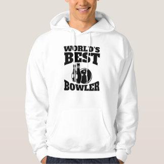 Worlds Best Bowler Hoodie