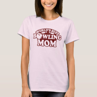 World's Best Bowling Mom T-Shirt