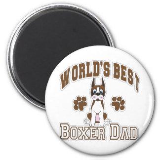 World's Best Boxer Dad Magnet
